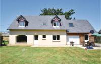 gite Le Bourg Dun Amazing home in Gruchet Saint Simeon w WiFi and 3 Bedrooms