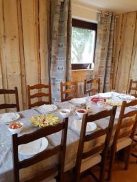 gite Aumontzey La Pinéguette maison 12 personnes décoration chalet sauna 4 personnes