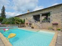 gite Tusson Cozy Holiday Home in La Forêt-de-Tesse with Private Pool