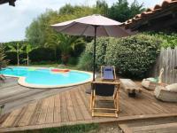 gite Andernos les Bains Agréable Villa avec piscine tout confort
