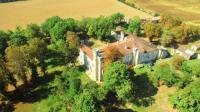 gite Castéra Verduzan Lamothe-Goas Chateau Sleeps 20 with Pool and WiFi