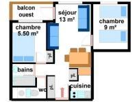 gite Tignes Apartment Ca0014 appartement dans le village de lanslebourg à 300m des pistes 1