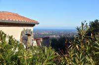 gite Perpignan Villa Josephine: Vue magnifique sur mer et montagnes