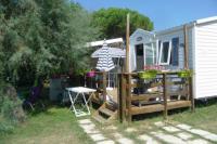 gite Saintes Maries de la Mer Mobil Home 3ch (6 pers) Camping 4