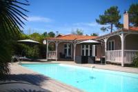 gite Gujan Mestras Fantastic villa with pool close to bay and ocean