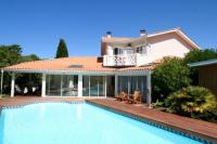 gite Lège Cap Ferret Perfect villa with pool in fantastic beach location, garden, terraces