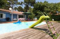 gite Lacanau Villa piscine chauffee cap ferret