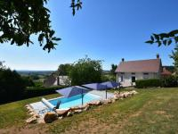 gite Sailly Gorgeous Holiday Home in Martigny-le-Comte with Pool