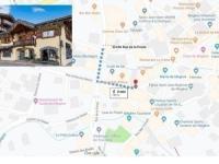 gite Saint Gervais les Bains Apartment Location appartement 4 pièces megeve centre villag 2