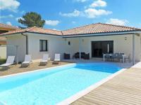 gite Capbreton Ferienhaus mit Pool Messanges 180S