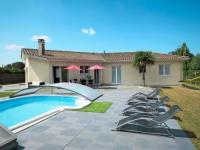 gite Cartelègue Ferienhaus mit Pool Moulis en Medoc 100S