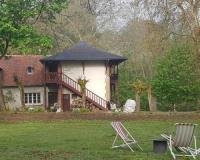 gite Nevoy Hiver à la campagne - Gîte dans le parc d'une maison ancienne