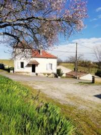 gite Cancon House with 3 bedrooms in Parranquet with furnished garden
