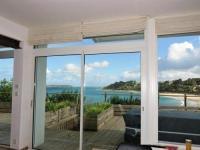 gite Lézardrieux House Maison avec terrasse de 70m² superbe vue mer plage de trestraou à perros-guirec 1