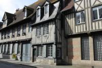 gite Englesqueville en Auge Maison 17ème - centre historique de Pont l'Evêque - 10 pers.