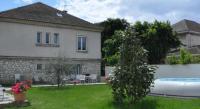 gite Bourg lès Valence Rez-de-Jardin avec Piscine