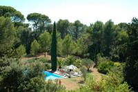 gite Causses et Veyran Roujan Villa Sleeps 8 Pool