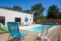 gite Fresnay en Retz house + private pool 1