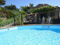gite Ancône Peaceful Holiday Home in Saint-Pons with Swimming Pool