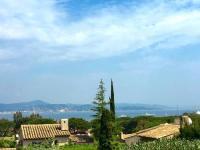 gite Cavalaire sur Mer Saint-Tropez walking distance, sea view house