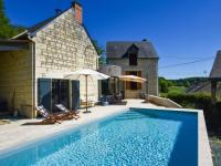 gite Varennes sur Loire Gorgeous restored house near Thizay with Swimming Pool