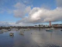 gite Mahalon Face au port, petite maison de pêcheur