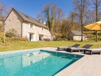 gite Peyrelevade Fantastic Holiday Home in Veix Limousin with Private Pool