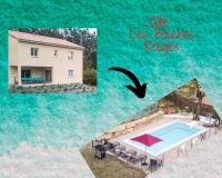 gite Berzème Gite LES BOUCHES ROUGES avec piscine privée
