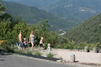 gite Lamalou les Bains Charmerende stenhus i vin område