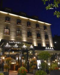 Hôtel Saint Aubin des Bois Hôtel Le Boeuf Couronné Chartres - Logis Hotels