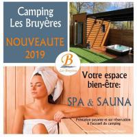 Terrain de Camping Languidic Camping Les Bruyères