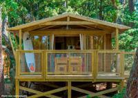 Terrain de Camping Herm Location en Mobil home au Camping L'Airial