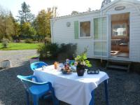 Terrain de Camping Dun sur Grandry Holiday home Camping Des Bains 2