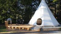 Terrain de Camping Orpierre Glamping at Camping La Source