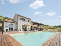 gite Villedieu Three-Bedroom Holiday home Visan with a Fireplace 07