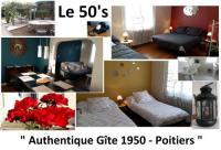 Location de vacances Poitiers 50's Authentique Gîte 1950