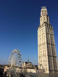 Gîte Amiens Gîte Le 360 TOUR PERRET Panoramique LUXE 19E étage