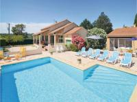 gite Saint Siffret Holiday Home St-Laurent-la-Vernède with Fireplace XIII