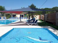 Terrain de Camping Languedoc Roussillon Location en Mobil home au Camping Les Genêts d'Or