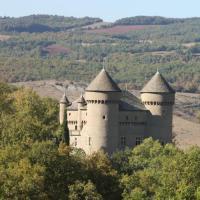 gite Sainte Eulalie de Cernon Chateau de Lugagnac