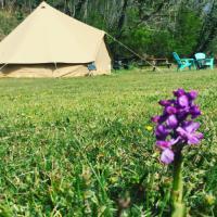 Terrain de Camping Saint Martial de Valette Belair le Camping