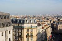 Appart Hotel Paris Appart Hotel Modern Apartment with view on Paris roofs