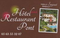 Hôtel Martrin Logis Hotel Restaurant du Pont