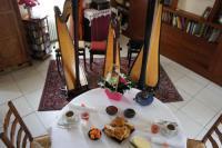 Chambre d'Hôtes Les Touches La chambre du harpiste