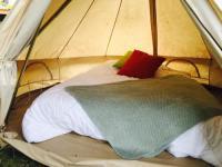 Terrain de Camping Loge Fougereuse Bivouac le frene