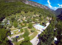 Terrain de Camping Nice Camping Domaine Sainte Madeleine