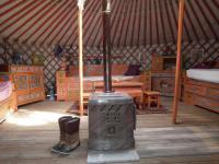 Terrain de Camping Scye yourte d'hotes
