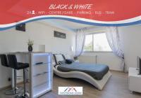 Appart Hotel Dijon Appart Hotel SweetHome Dijon - Black et White