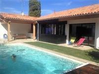 gite Saint Jean de Monts House Maison avec piscine a deux pas de la plage et de st gilles croix de vie