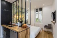 Appart Hotel Paris 7e Arrondissement Appart Hotel Studio d'architecte au pied de Tour Eiffel (CDM)